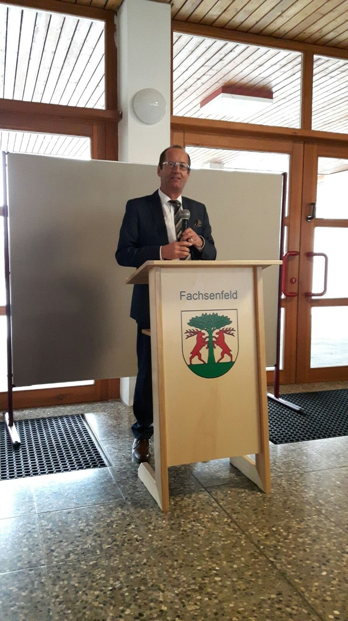 Bürgermeister Karl-Heinz Ehrmann, Aalen