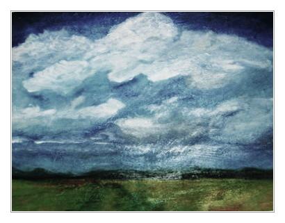 Weites Land, Acryl, 60x80cm