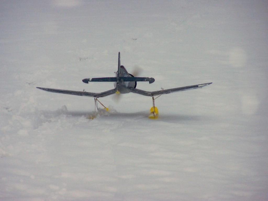 Un Corsaire  à skis ? ? ?