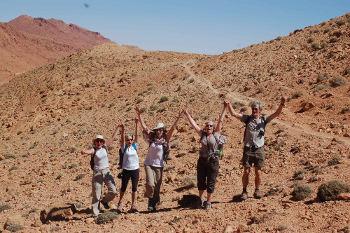 Escursionismo Gole Todra Gorges Harmony Desert