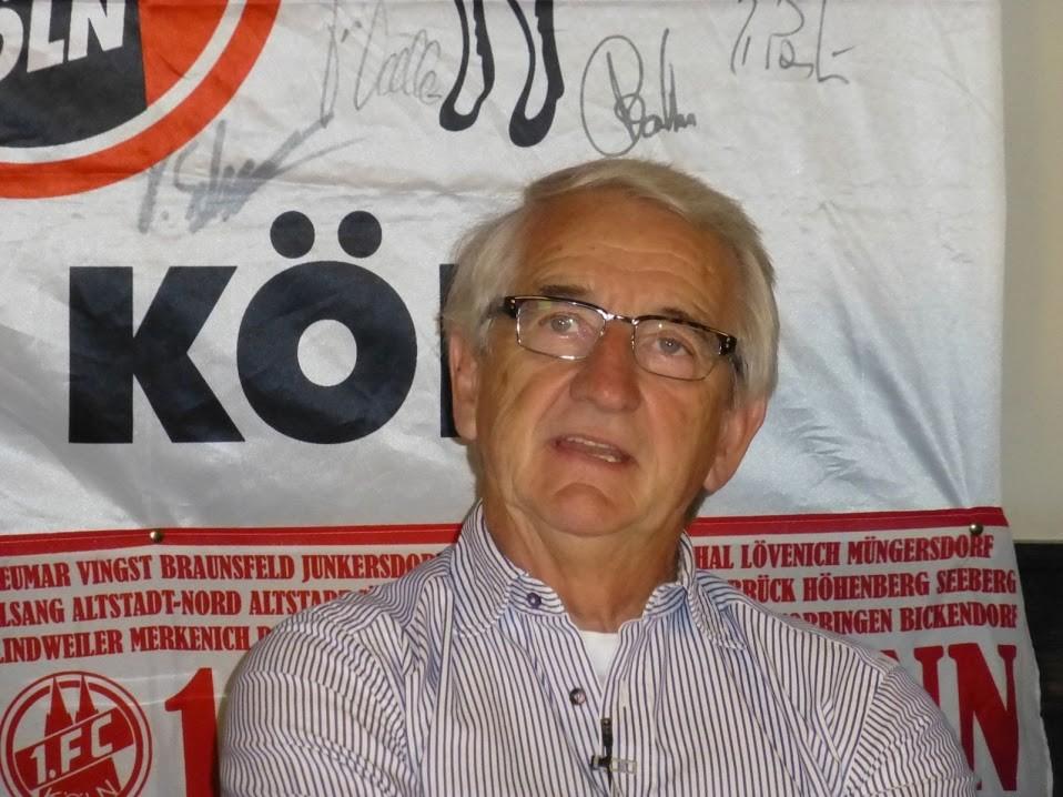 FC-Ikone Hannes Löhr, immer noch Rekordtorschütze, Ex-Cheftrainer und ehemaliger Manager