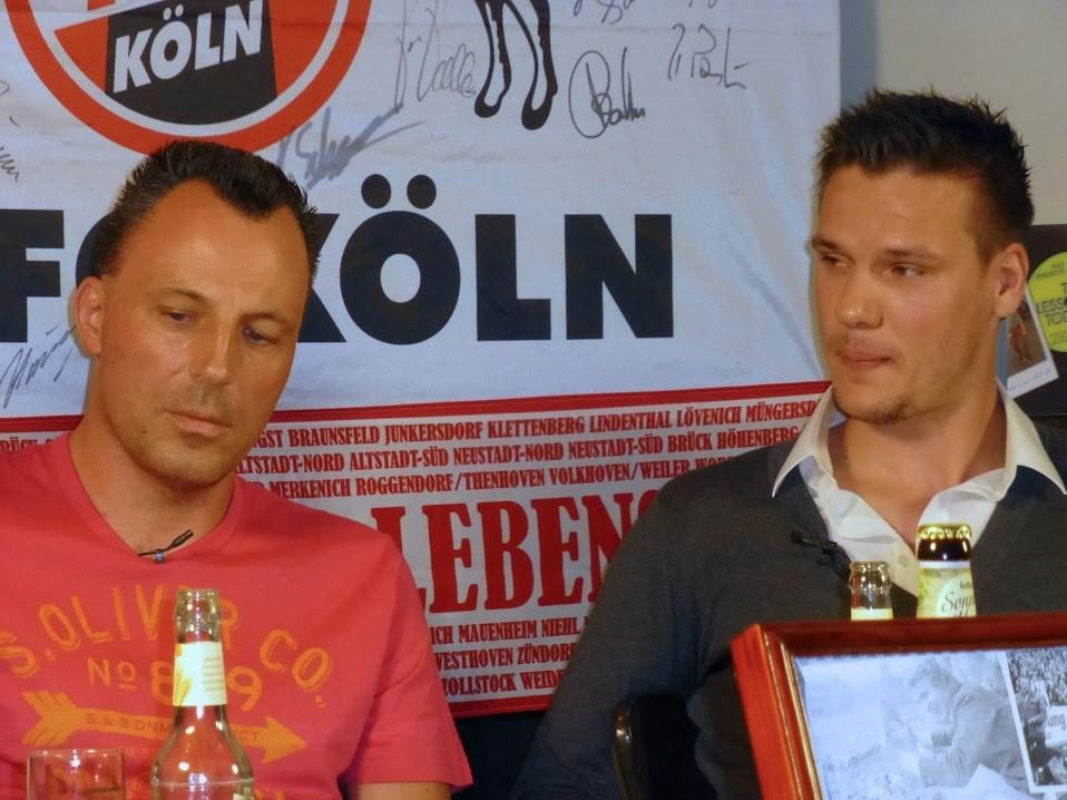 Nino Flohe und Christopher Schorch