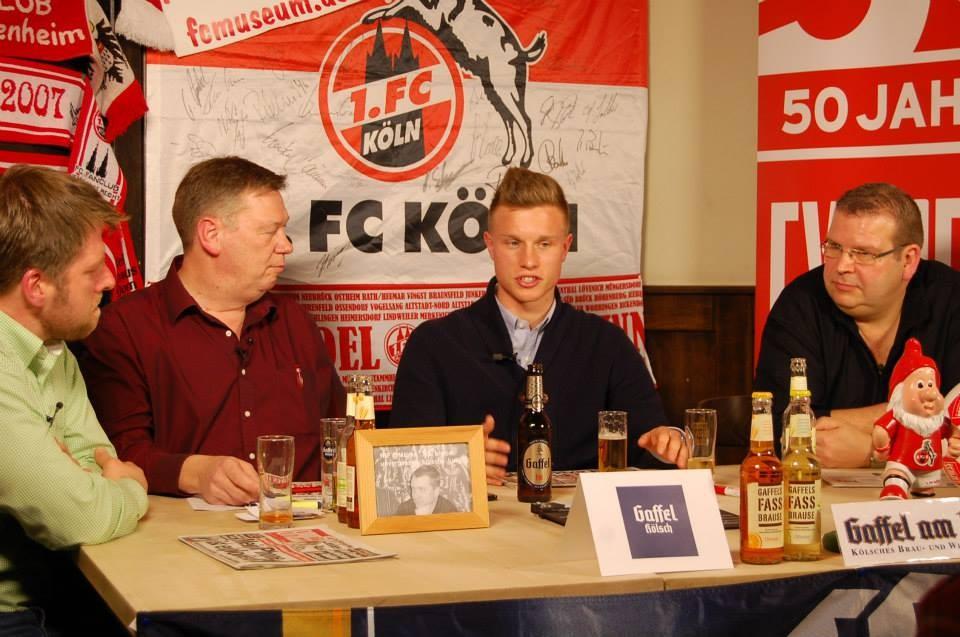 Yannick Gerhardt war kurz vor seiner Wahl zu Kölns Sportler des Jahres zu Besuch
