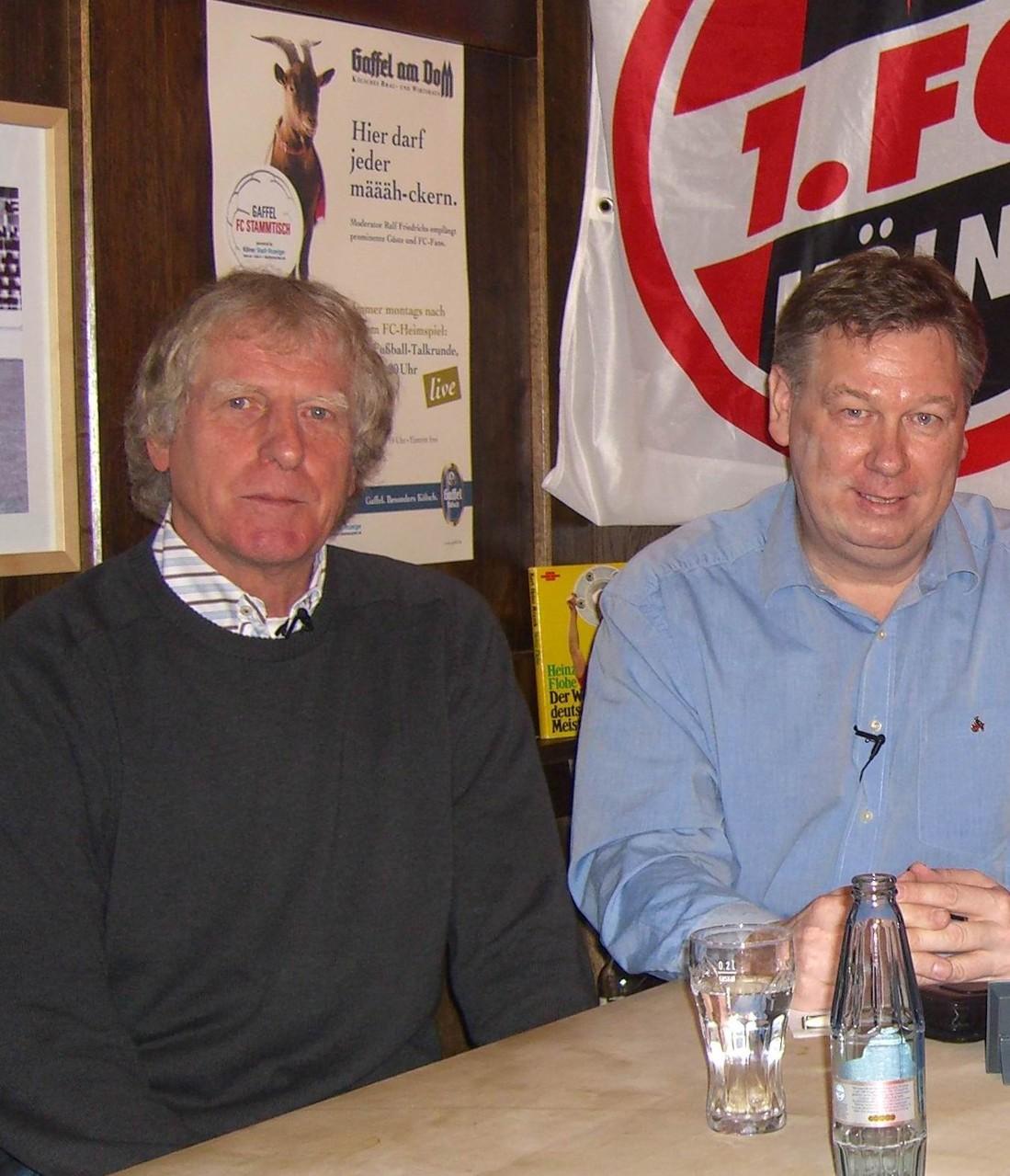 Erich Rutemöller war mal FC-Trainer und ist heute Fan des Vereins
