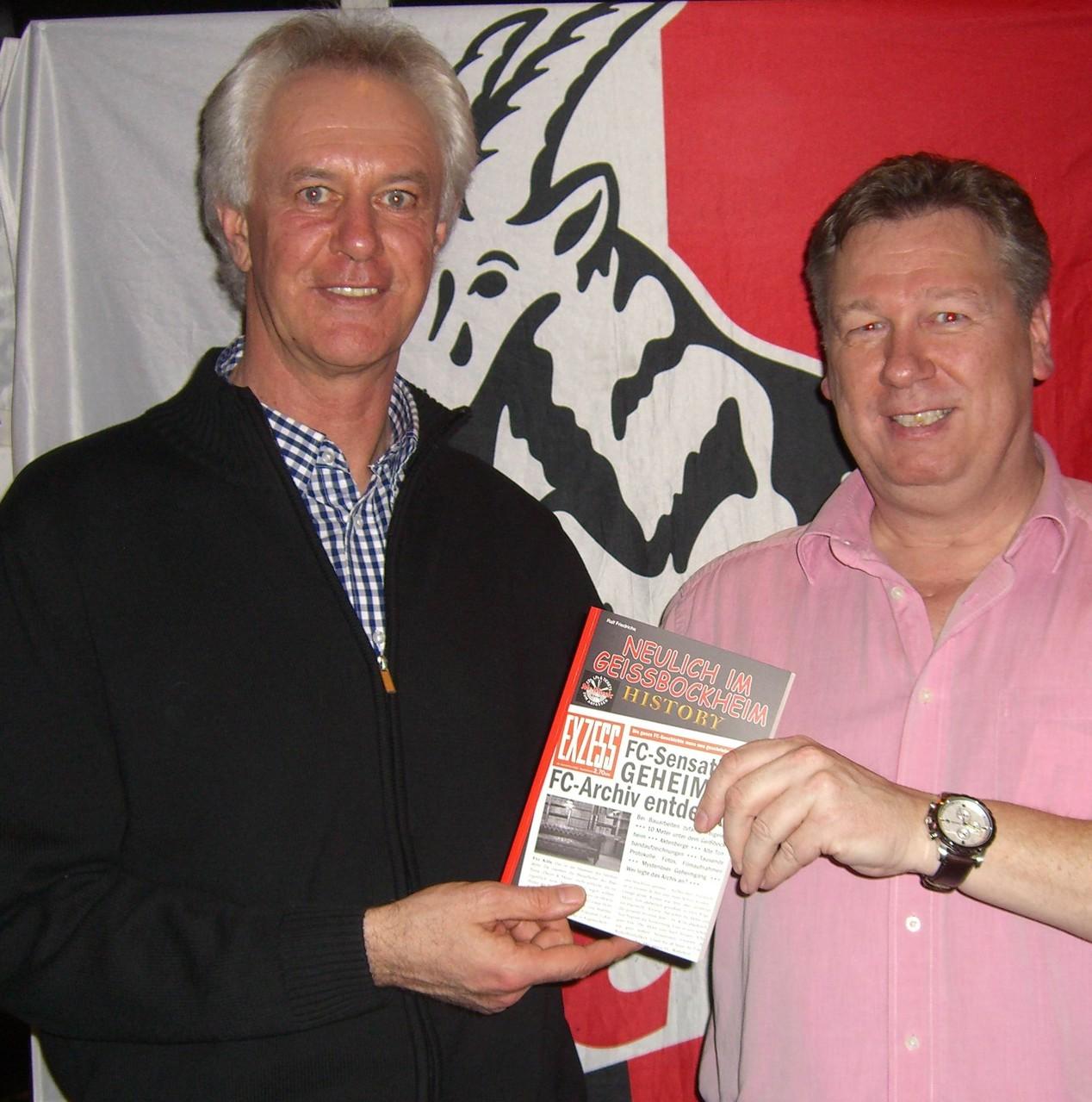 Double-Gewinner 1978 und Ex-FC Kapitän Gerd Strack
