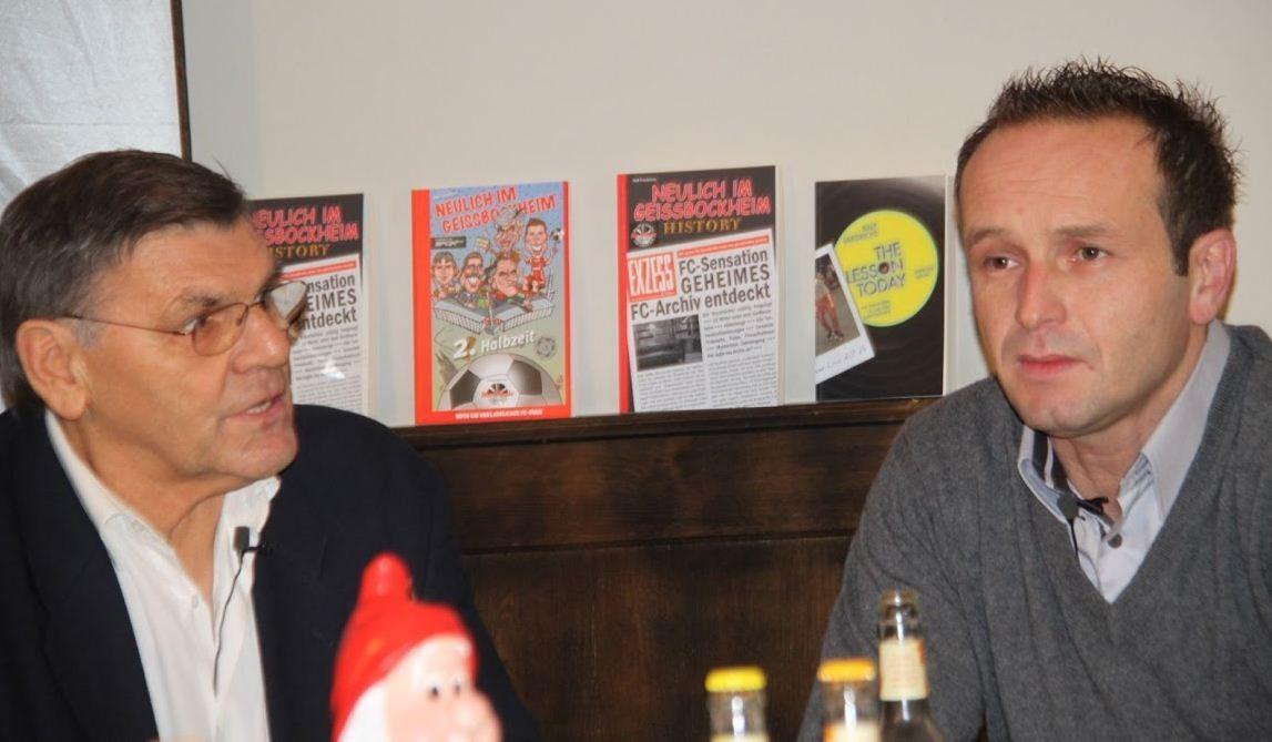 """Wolfgang """"Bulle"""" Weber und Dirk """"Lotte"""" Lottner - 2 FC-Legenden aus verschiedenen Zeiten"""