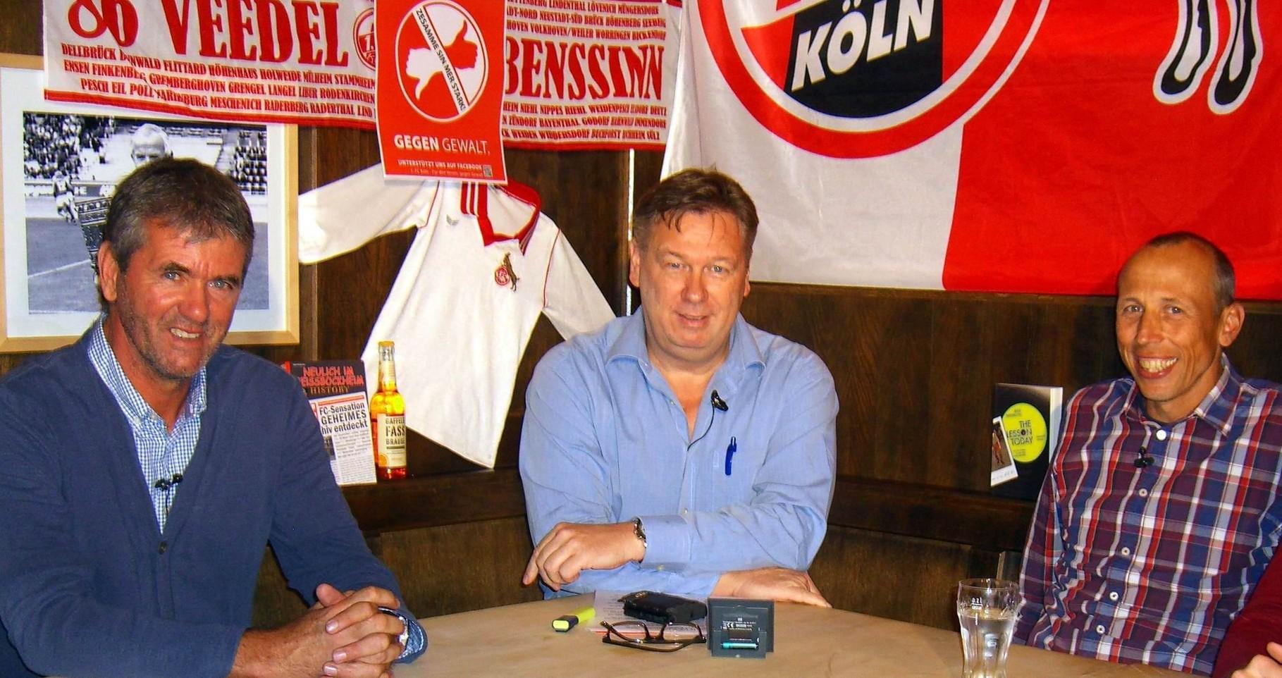 Ex-Cheftrainer Friedhelm Funkel (links) und FC-Aufstiegsspezialist Matthias Scherz