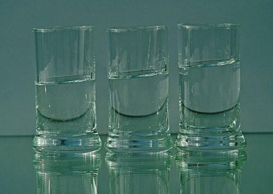Ist mein Glas halb voll oder halb leer?