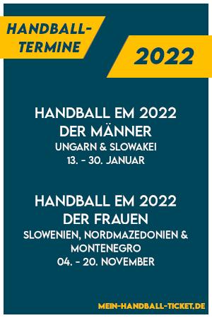 Handball Termine 2022