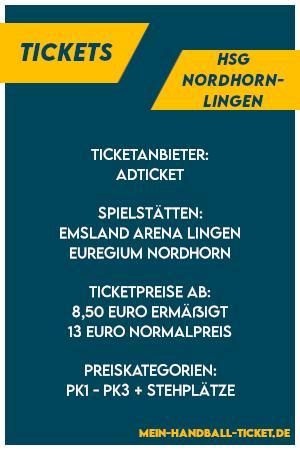 HSG Nordhorn-Lingen Tickets 2021/2022