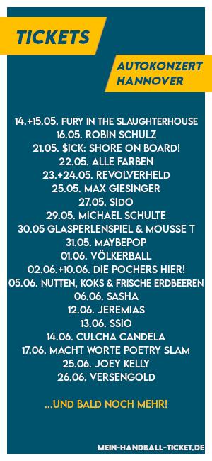 Autokonzert Hannover Programm