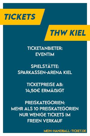 Informationen zu den THW Kiel Tickets