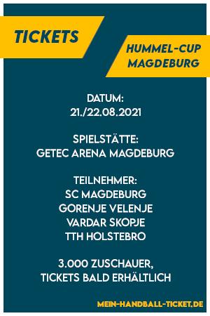 Hummel-Cup 2021 Tickets Magdeburg