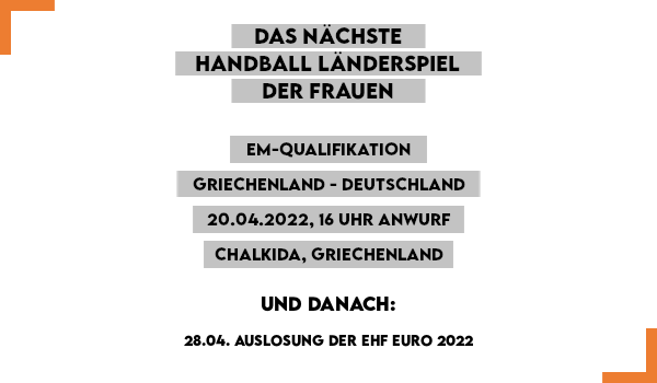Handball Länderspiel Frauen in Düsseldorf