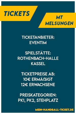 MT Melsungen Tickets