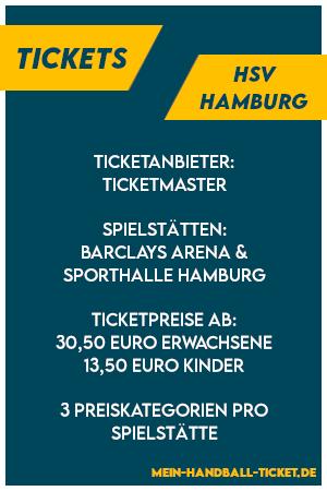 HSV Handball Hamburg Tickets