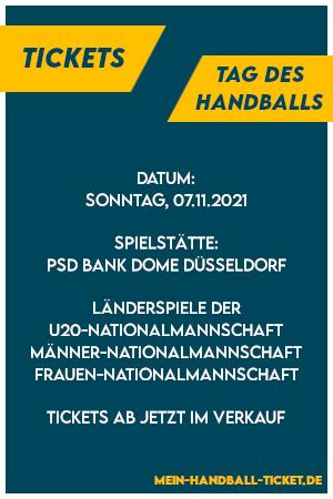 Tag des Handballs 2021 Tickets