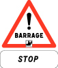 Barrage  Stop  Danger