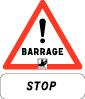 Barrage  Stop  Danger