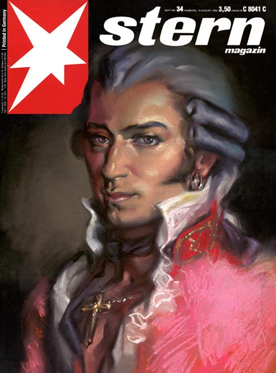 """Magazine-Cover STERN - """"Mozart Superstar"""""""