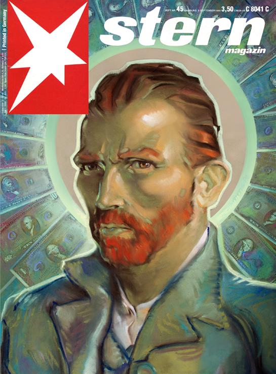 "Magazine-Cover STERN - ""Van Gogh`s Millions"""