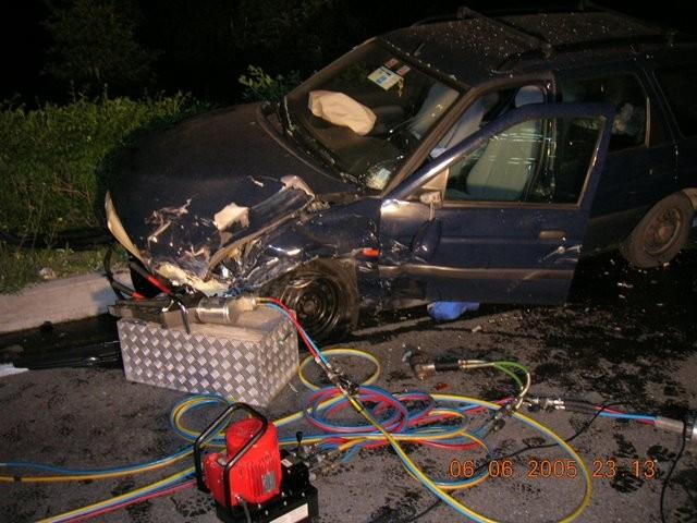 Schwerer Unfall Laaserhöhe 2005
