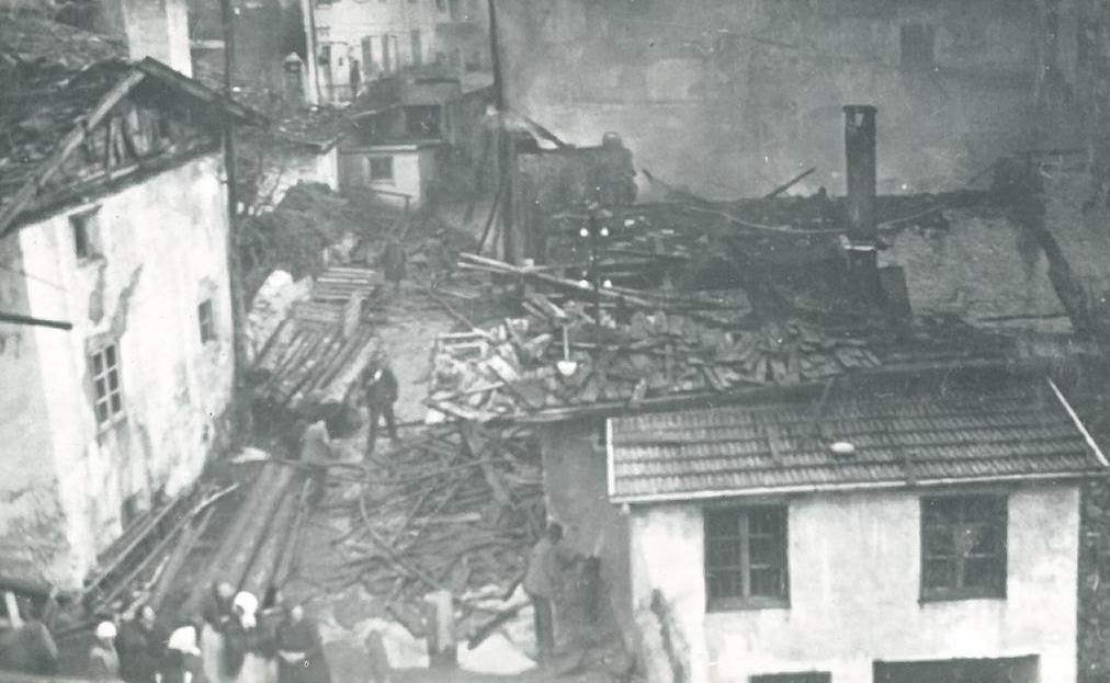 Brand Rosenwirt 1932 (Mühlgasse)