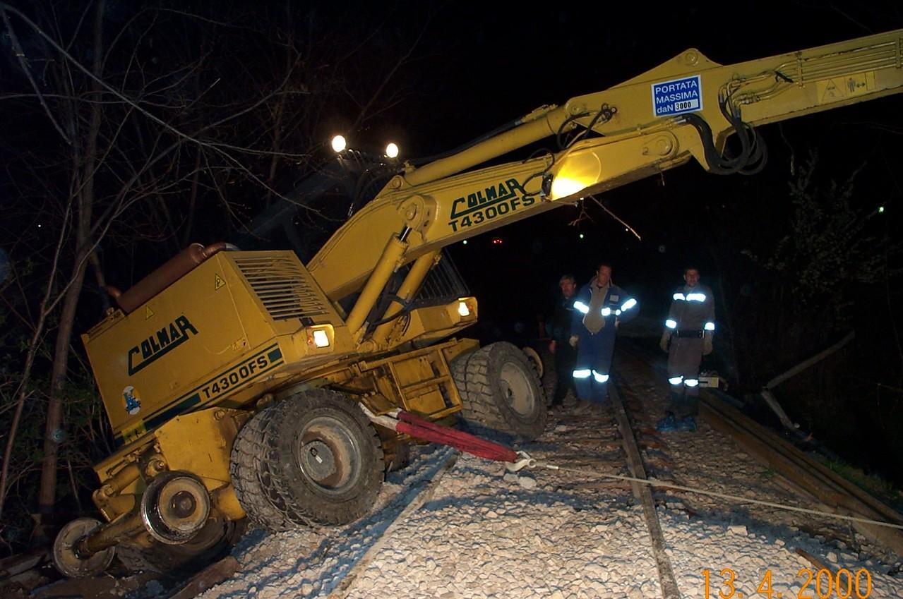 Bergung Schienenfahrzeug