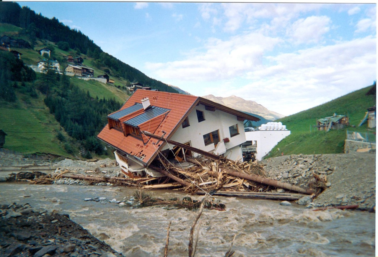Unwetterschäden Nordtirol