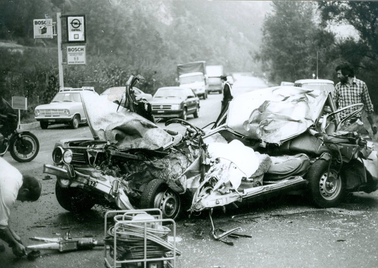 Tödlicher Verkehrsunfall Latsch