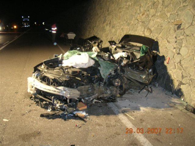 Tödlicher Verkehrsunfall Laasergeraden 2007