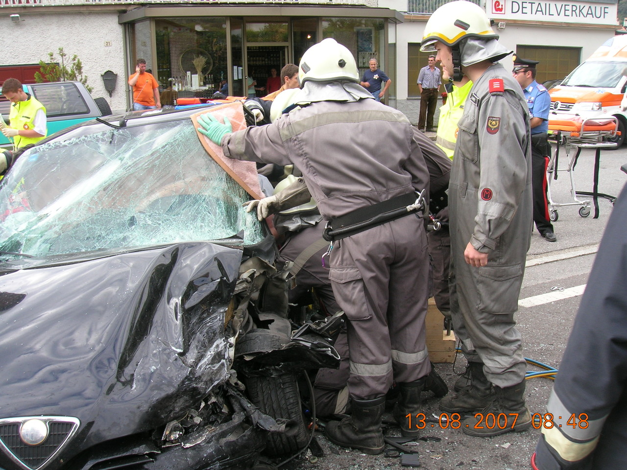 Schwerer Unfall Umfahrungstraße 2007