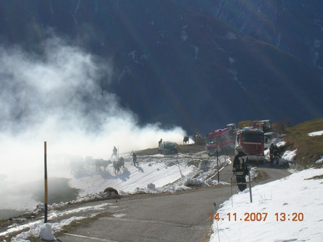 Brand in Allitz 2007