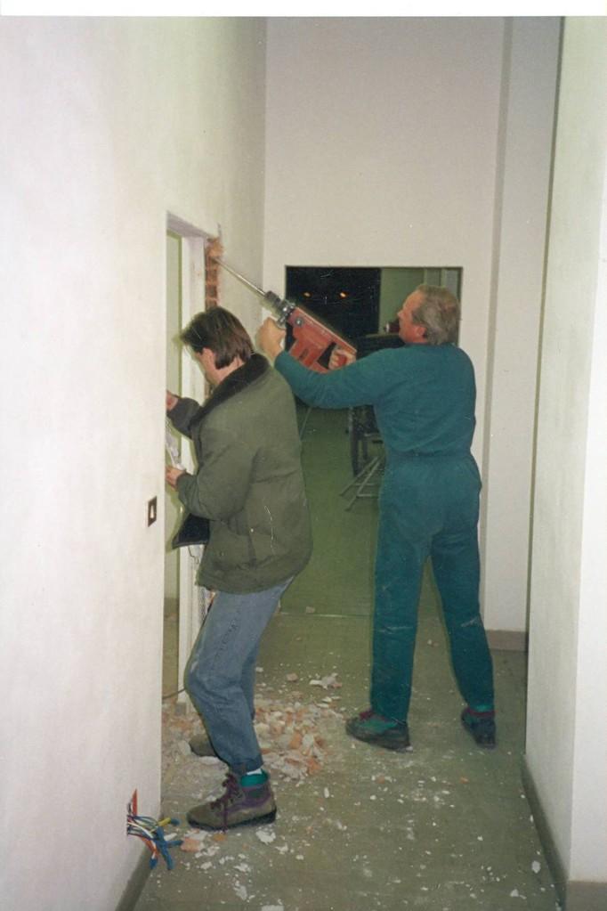 Interne Umbauarbeiten