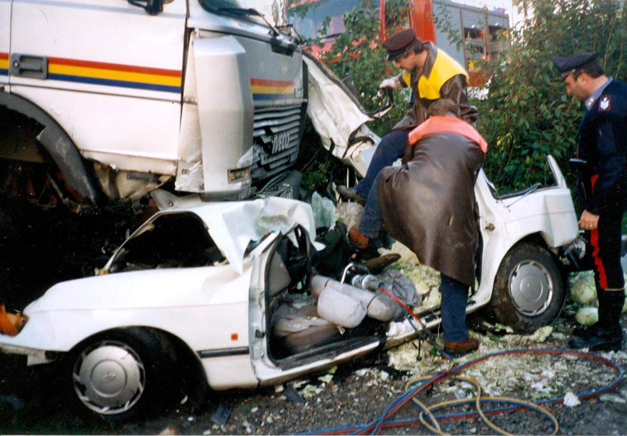 Schwerer Unfall Moarkurve 1994