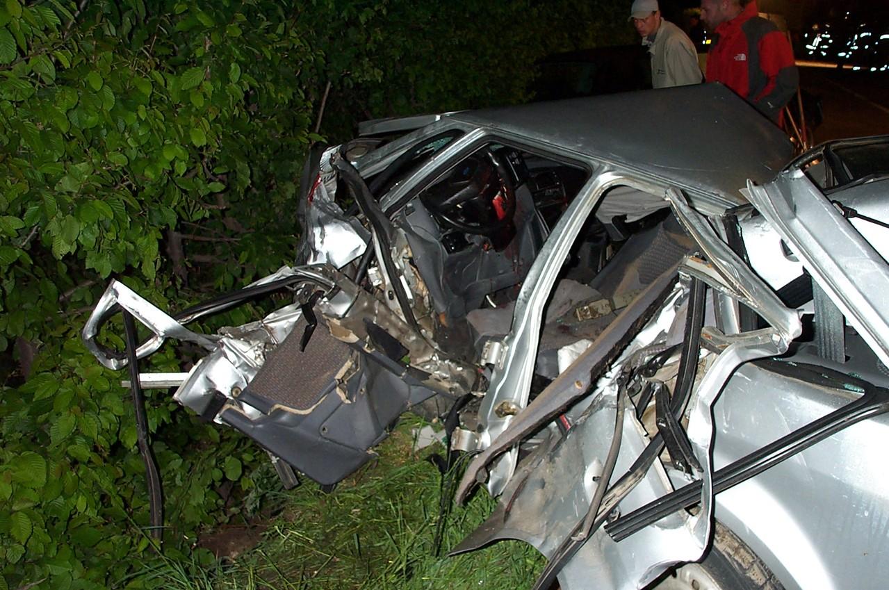 Schwerer Unfall Galsaun-Tschars