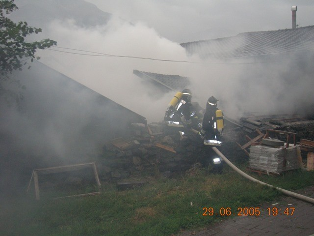 Brand Kortsch 2005