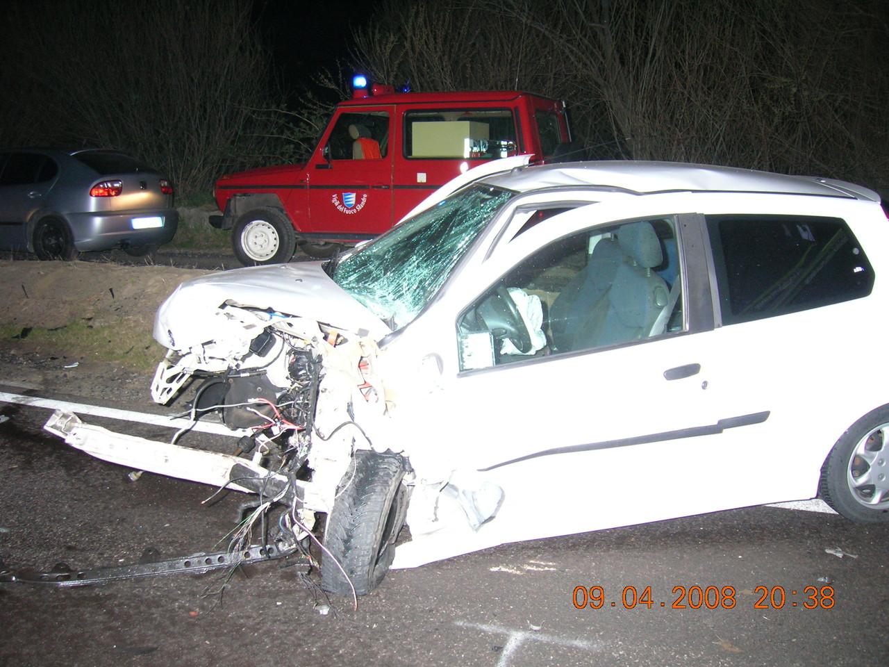 Schwerer Unfall Agip Tankstelle 2008