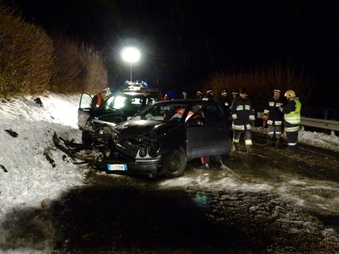 Schwerer Unfall zwischen Kortsch und Laas