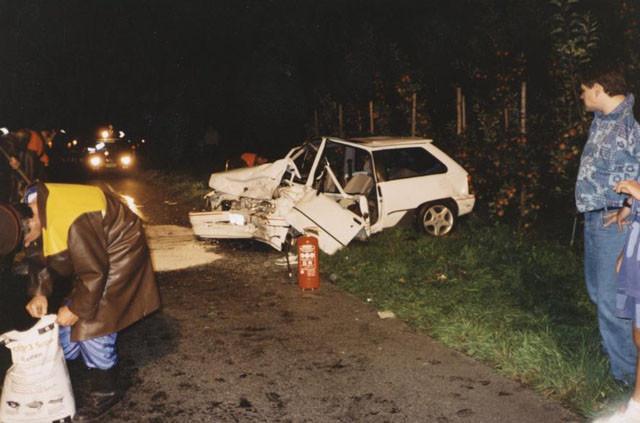 Tödlicher Unfall Moarkurve 1994