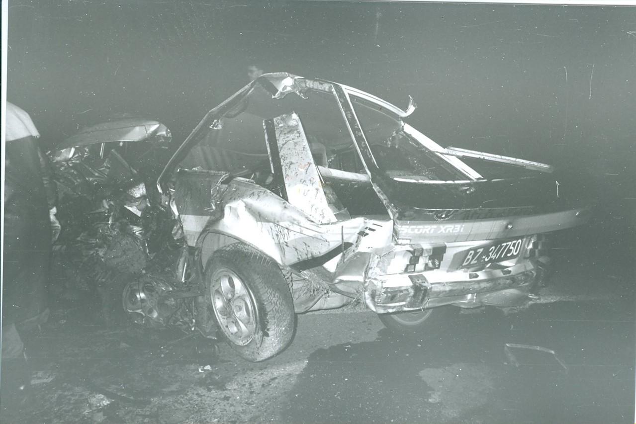 Tödlicher Verkehrsunfall Fallertunnel
