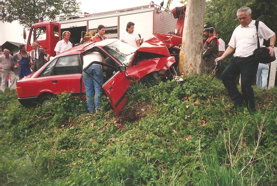 Unfall Umfahrung Schlanders