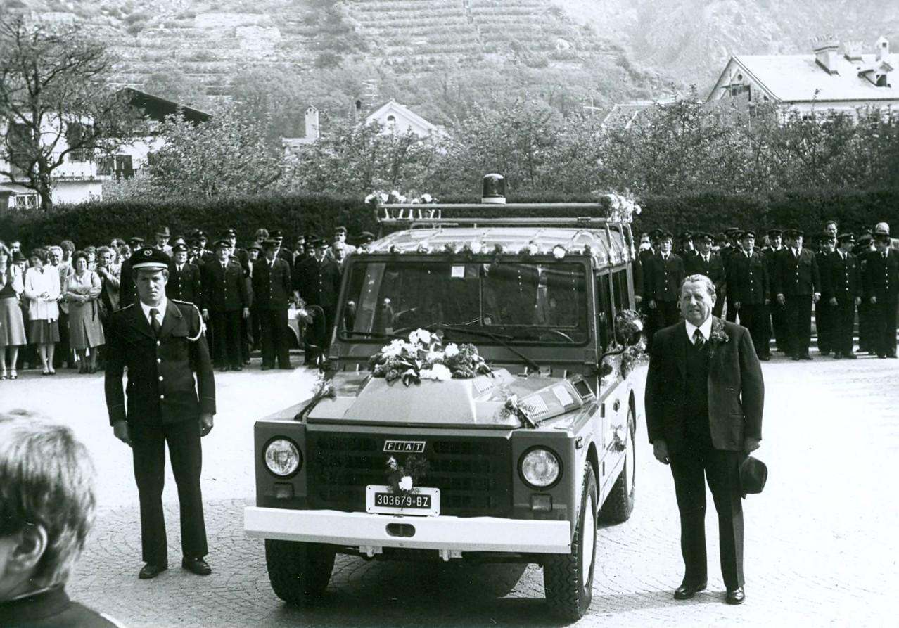 Einweihung Fiat Campagnola Diesel Pate Sailer Josef