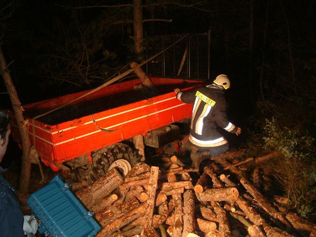 Traktorabsturz Tappein-Geierboden