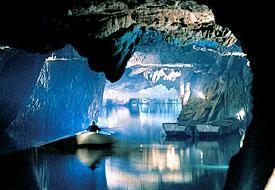 Chalet les Gires - lac souterrain