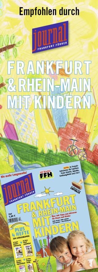 Bild Aufkleber Frankfurt Journal klein