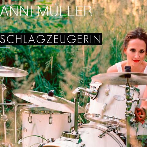 Drummerin Anni Müller