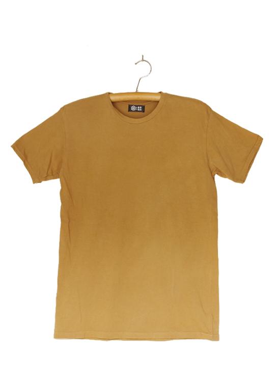熊野番茶染め Tシャツ(無地・銅媒染)