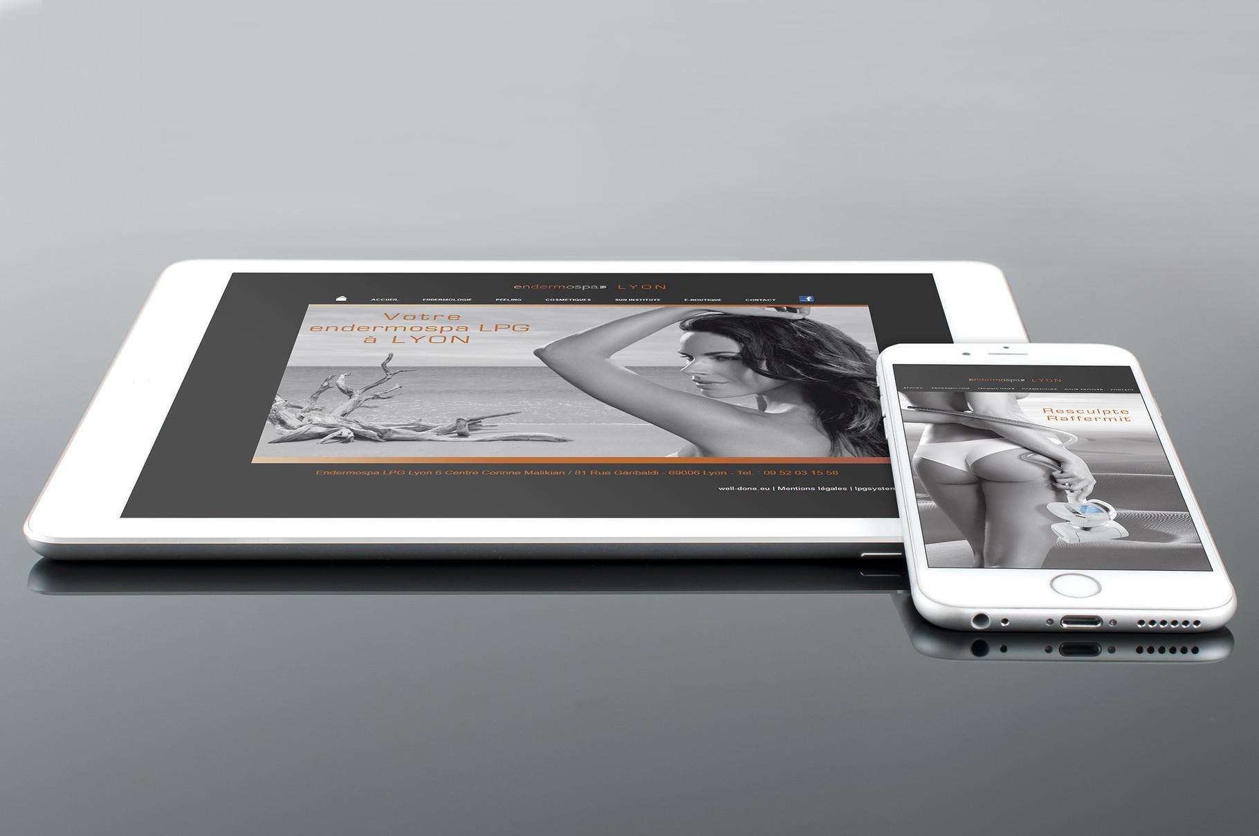 Site Web Endermospa