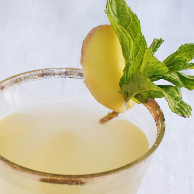 Ingwer-Zitronen-Limonade Adhrak Sherbet